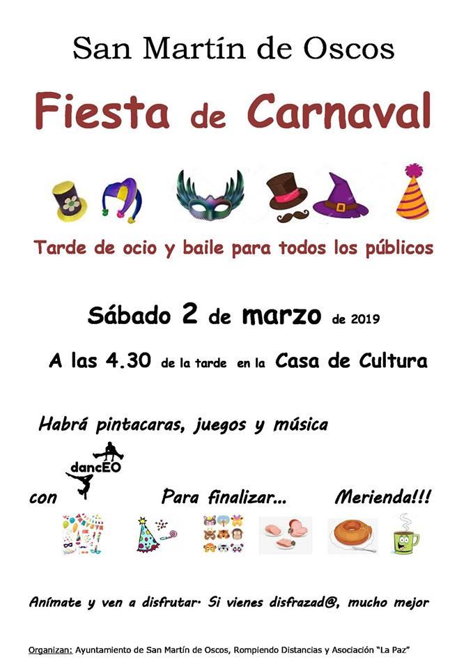 Carnaval en San Martín de Oscos 1