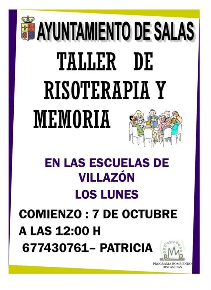 Taller de risoterapia y memoria en Villazón 1