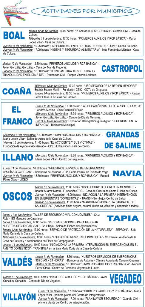 VI Semana Saludable en el Noroccidente de Asturias 2