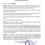 Bando Ayuntamiento Valdés 13/03/2020