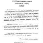 Servicio de acercamiento de productos de primera necesidad en Taramundi
