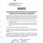 Bando Ayuntamiento Villayón 13/03/2020