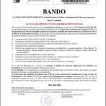 Bando Ayuntamiento Tineo 13/03/2020