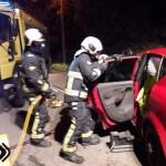 Una fallecida en un accidente de tráfico  en Armental