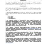 Bando Ayuntamiento Villanueva de Oscos 16/03/2020