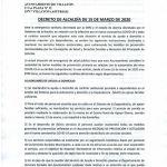 Bando servicios municipales Villayón 16/03/2020