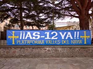 «No pertenecemos a la España vaciada, sino a la comarca vacilada», claman en Grandas de Salime por el arreglo de la AS-12 2