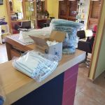 Donación de material a los Servicios Sociales de Cudillero