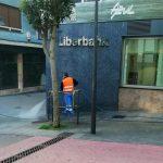 Cangas del Narcea refuerza las medidas de limpieza en vías públicas