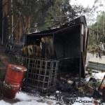 Extinguido un fuego en una caseta de obra en Vegadeo
