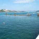 Instalación de pantalanes temporales en Viavélez, Puerto de Vega y Castropol