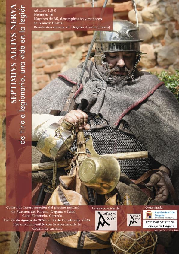 Exposición sobre la legión romana en Cerredo 1