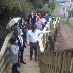 Casi 15.000 visitas en los Jardínes de la Fonte Baxa, en Valdés