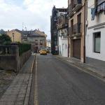 Urbanización de la calle Párroco Trueba, en Navia