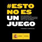 Campaña #EstoNoEsUnJuego para reforzar el cumplimiento de las medidas de protección frente al Covid-19