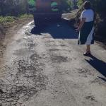 Comienzan las obras en el acceso a Villajimada, en Cangas del Narcea