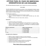 Ayudas para el pago de servicios energéticos en el hogar, en Boal