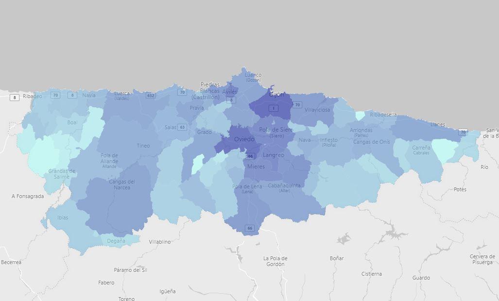 Actualización diaria de casos de coronavirus en Asturias 1