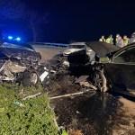 Una mujer fallecida y siete heridos en un accidente en Tineo