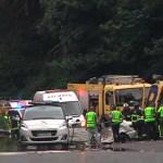 Piden 4 años de cárcel para el conductor del accidente en el que fallecieron tres jóvenes de Tineo en Cangas en 2018