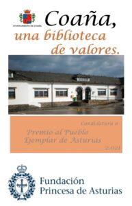 Presentada la candidatura 'Coaña, biblioteca de valores' a Pueblo Ejemplar 2021 1