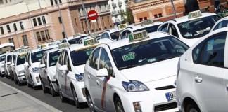 taxi madrid huelga