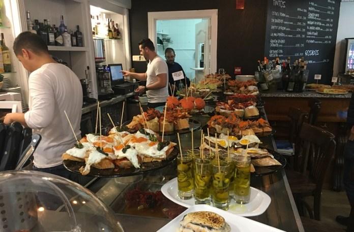 Restaurante vasco El Frontón en Madrid