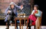 Voltaire Rousseau la disputa en el Teatro María Guerrero