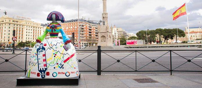 'OpenNina', el modelo de Openbank para la exposición urbana Meninas Madrid Gallery