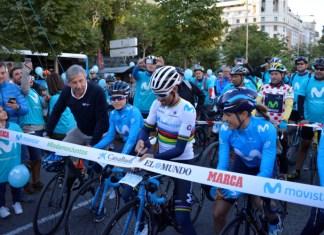 Alejandro Valverde Campeon del Mundo Ciclismo en Ruta