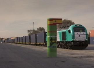 Tren Madrid Yiwu