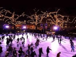 pista de hielo matadero, pista de hielo madrid, navidad madrid, pista patinaje matadero