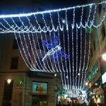 Iluminacion Navideña en las calles de Salamanca 2015 2016