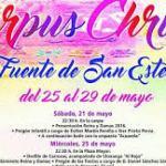 Fiesta del Corpus Fuente de San Esteban 2016