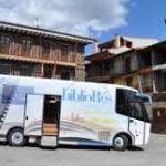 Recorrido Bibliobús segunda semana Febrero Salamanca 2018