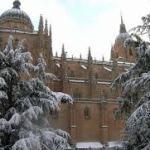 Primera Nevada en Salamanca Enero 2018