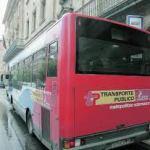 Subida del autobús Metropolitano en Salamanca 2018