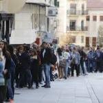 Miles de personas en la cola para el Casting de Salamanca 2018
