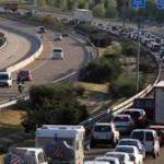 Mayor concentración de coches en el Lunes de Aguas Salamanca 2018