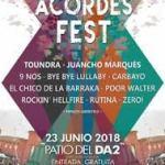 Concierto Tres Acordes Fest Salamanca 2018