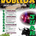 Fiestas San Juan Robleda Junio 2018
