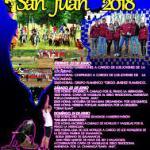 Programa fiestas San Juan Navasfrías Junio 2018