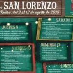 Fiestas de Rollan Agosto 2018