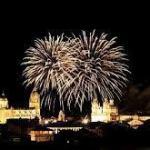 Horario Fuegos Artificiales Fiestas de Septiembre Salamanca 2018