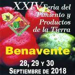 Programa Feria del Pimiento Benavente 2018