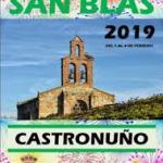 Programa Fiesta de San Blas Castronuño 2019