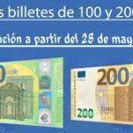 Nuevos billetes de euro Salamanca 2019