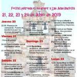 Fiestas Palacios del Arzobispo Junio 2019
