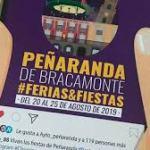 Programa Fiestas Peñaranda Bracamonte agosto 2019