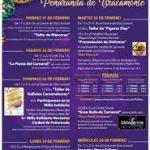 Programa Carnavales Peñaranda 2020
